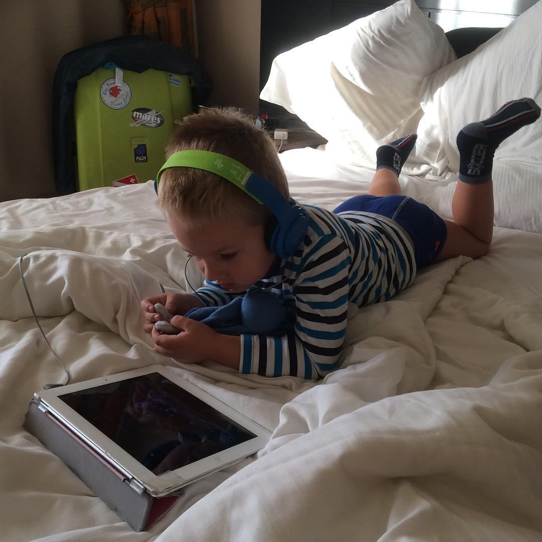 #goedemorgen365 #BrandweermanSam op de #iPad #vakantie