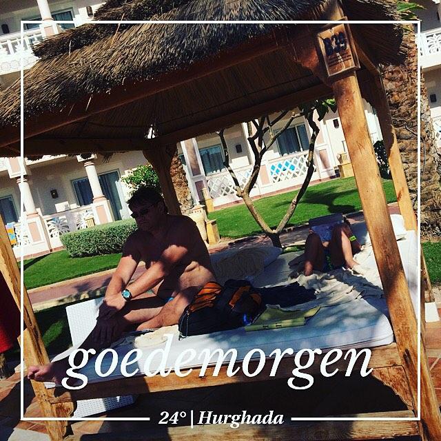 #goedemorgen365 #vakantie #genieten #hemelbed #zwembad #Egypte