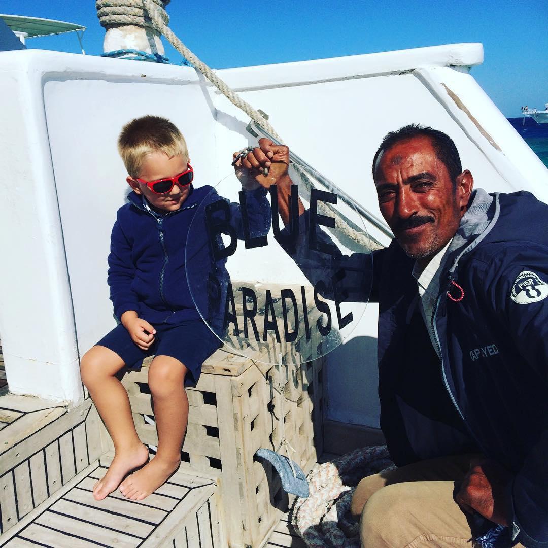 #goedemorgen365 op de #Basyl van #BlueParadise met de new captain #Sayed #nogietsmeerdan6jaarwachten