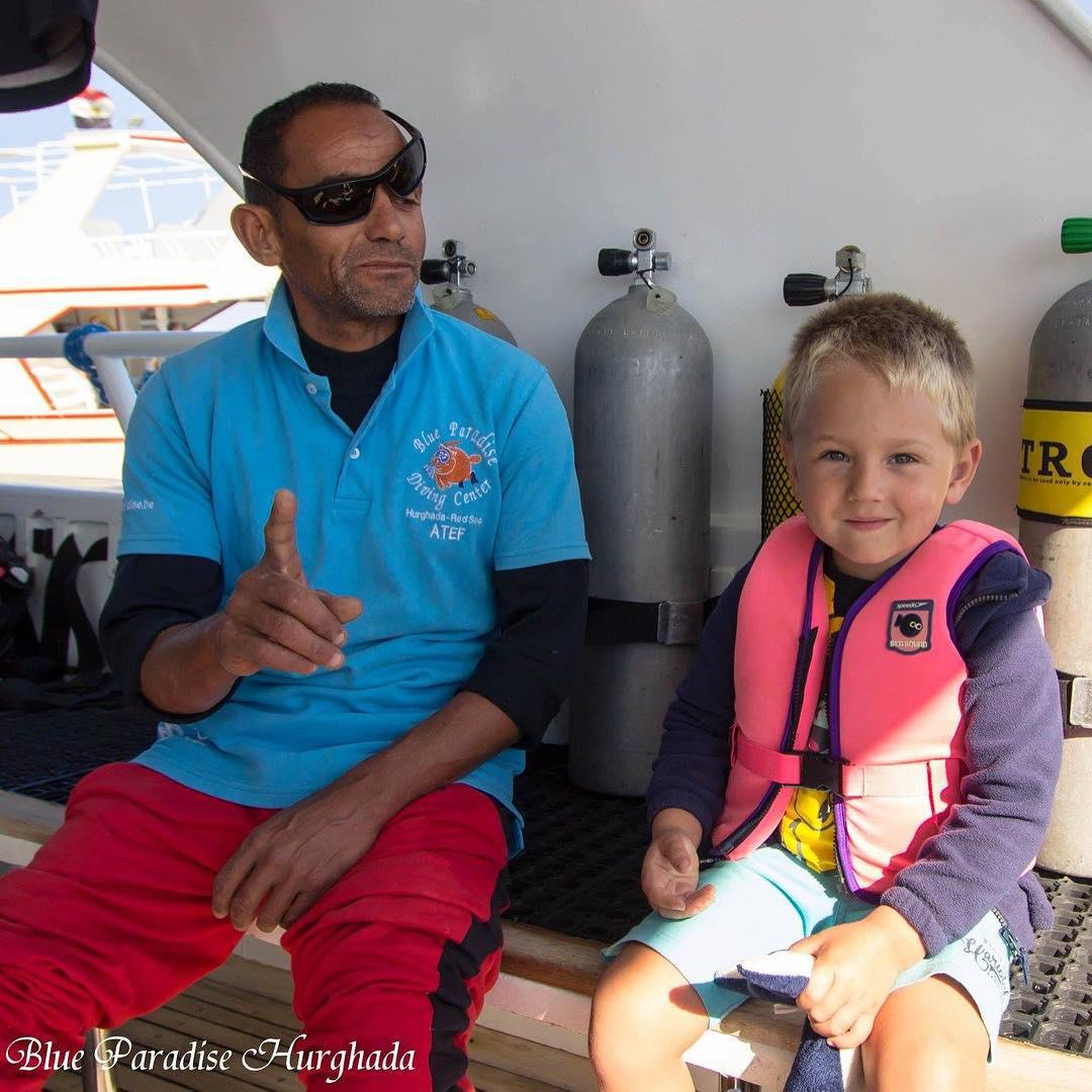 #goedemorgen365 Nog even #terugblikken op de #vakantie Tim met #Atef #BlueParadiseRedSea