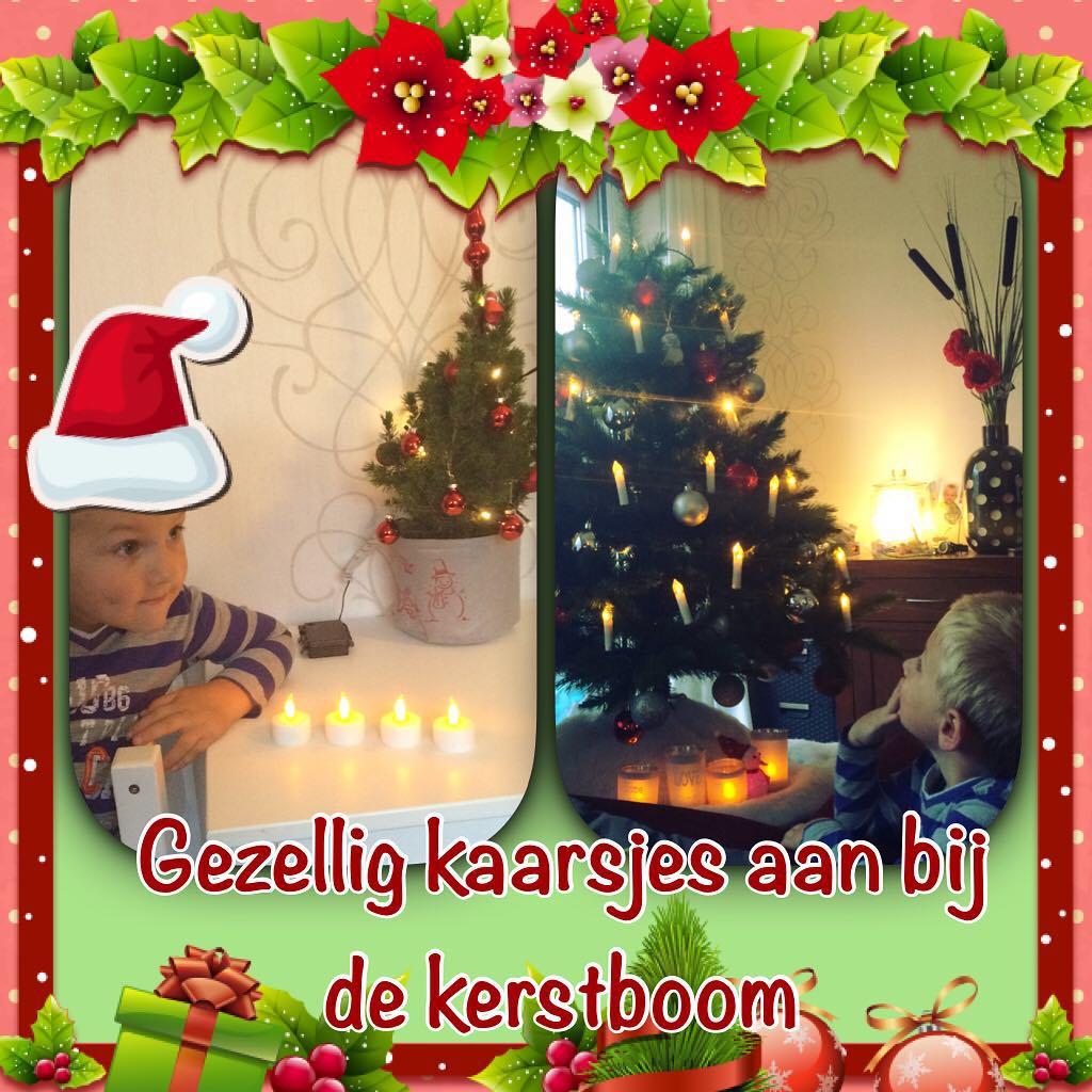 #goedemorgen365 #gezellig bij de #kerstboom #kaarsjes #bijnakerst