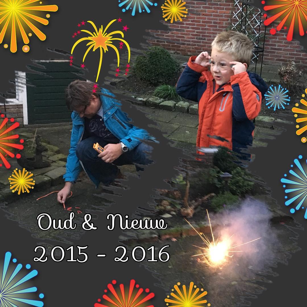 Oud&Nieuw vieren in #Borne bij #opaenoma #tms #vuurwerk