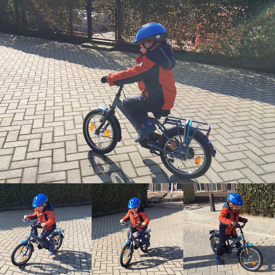 #goedemorgen365 nieuwe #fiets uitproberen #blijmee #nogharder