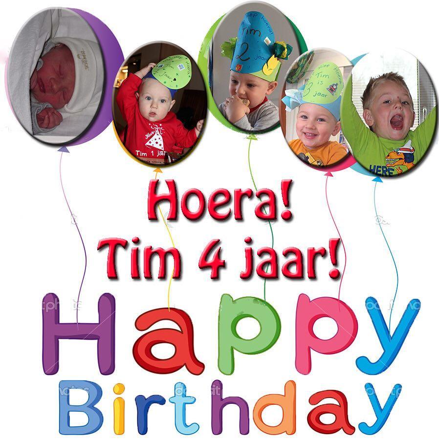 #goedemorgen365 vandaag is Tim echt #jarig #kleuter #verjaardag
