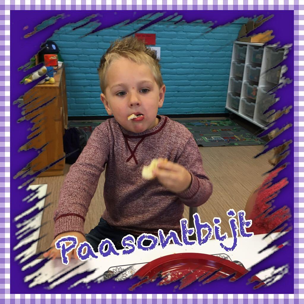 #goedemorgen365 #paasontbijt in de #kleuterklas