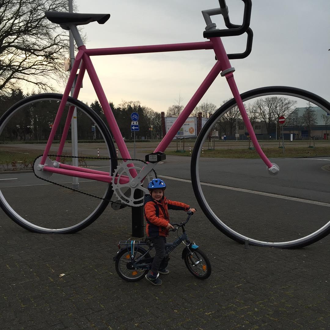 #goedemorgen365 even lekker op de fiets