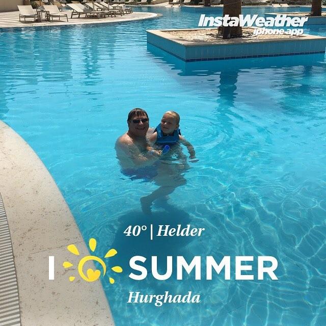 #goedemorgen365 voor 9:00 uur al in het #zwembad #vakantie2016 #Egypteisveilig