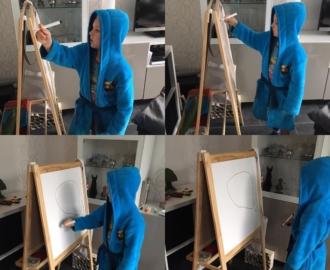 #goedemorgen365 #kunstenaar aan het werk