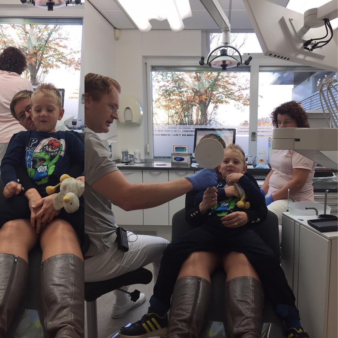 #goedemorgen365 bij de tandarts