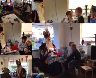 Steeds een beetje dichter bij #Sinterklaas en op het eind zelfs een #highfive  en een #hand #Sintopbezoek #tms