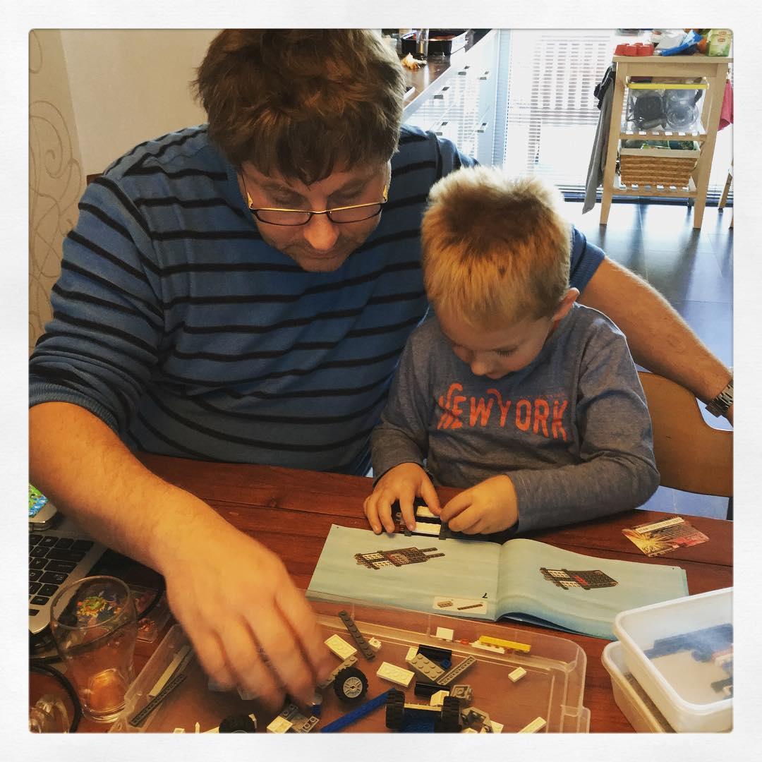 Samen #lego bouwen #zondagmiddag #tms